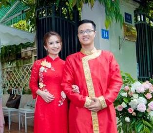 Chàng sinh viên Luật Harvard Nguyễn Hoàng Khánh và vợ sắp cưới