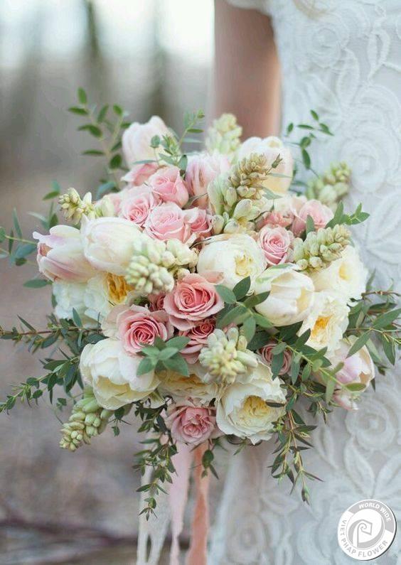 hoa cầm tay cô dâu bridal bouquet