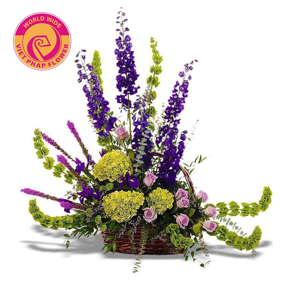 Thiết kế hoa hình nan quạt