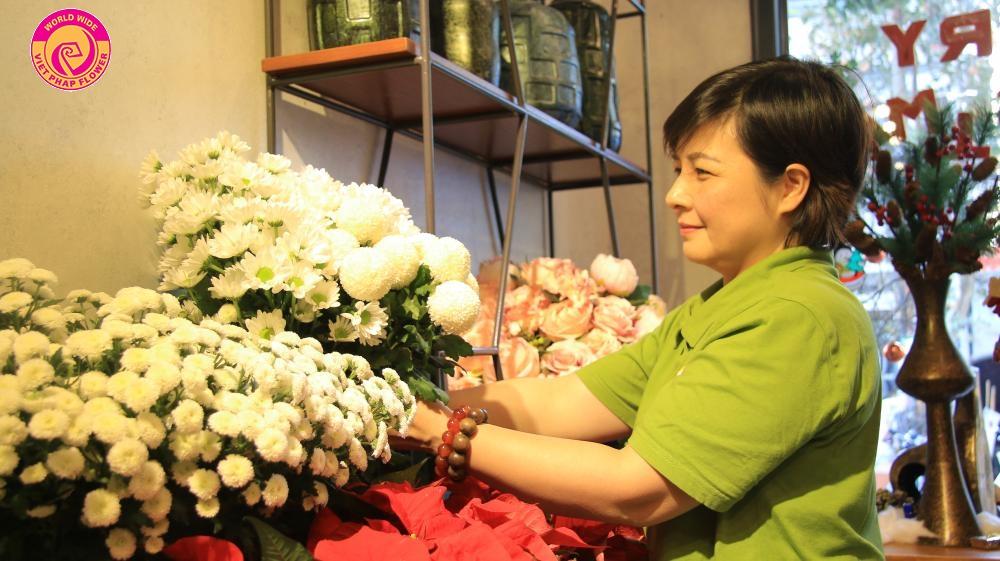 Hoa Việt Pháp cung cấp đa dạng dịch vụ hoa tươi