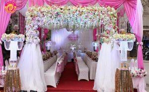 Cổng hoa cưới trong ngày trọng đại nhất của mỗi cặp đôi