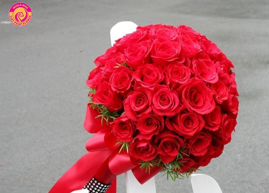 Hoa hồng đỏ là quà tặng cho cô nàng kiêu sa