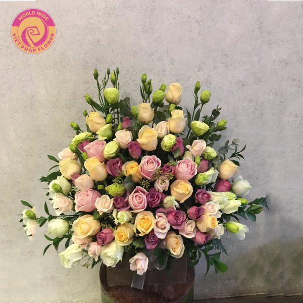 hoa mừng ngày nhà báo Việt Nam
