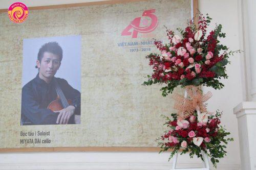 Hoa Việt Pháp đồng hành cùng sự kiện Hòa nhạc đặc biệt Toyota 2018