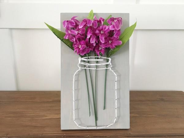 Mách bạn cách làm tranh lọ hoa 3D đẹp mắt