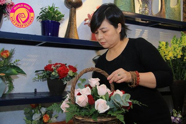 khóa học cắm hoa tại hà nội