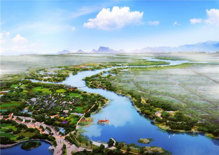 Không gian xanh tại Triển lãm làm vườn quốc tế Bắc Kinh 2019
