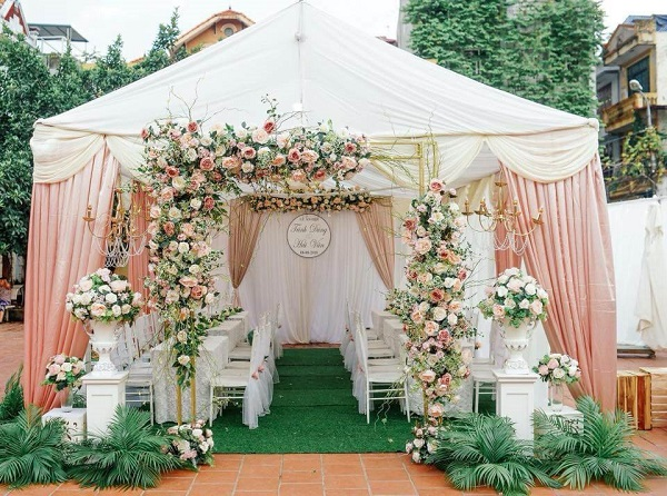 Kết quả hình ảnh cho cổng hoa cưới