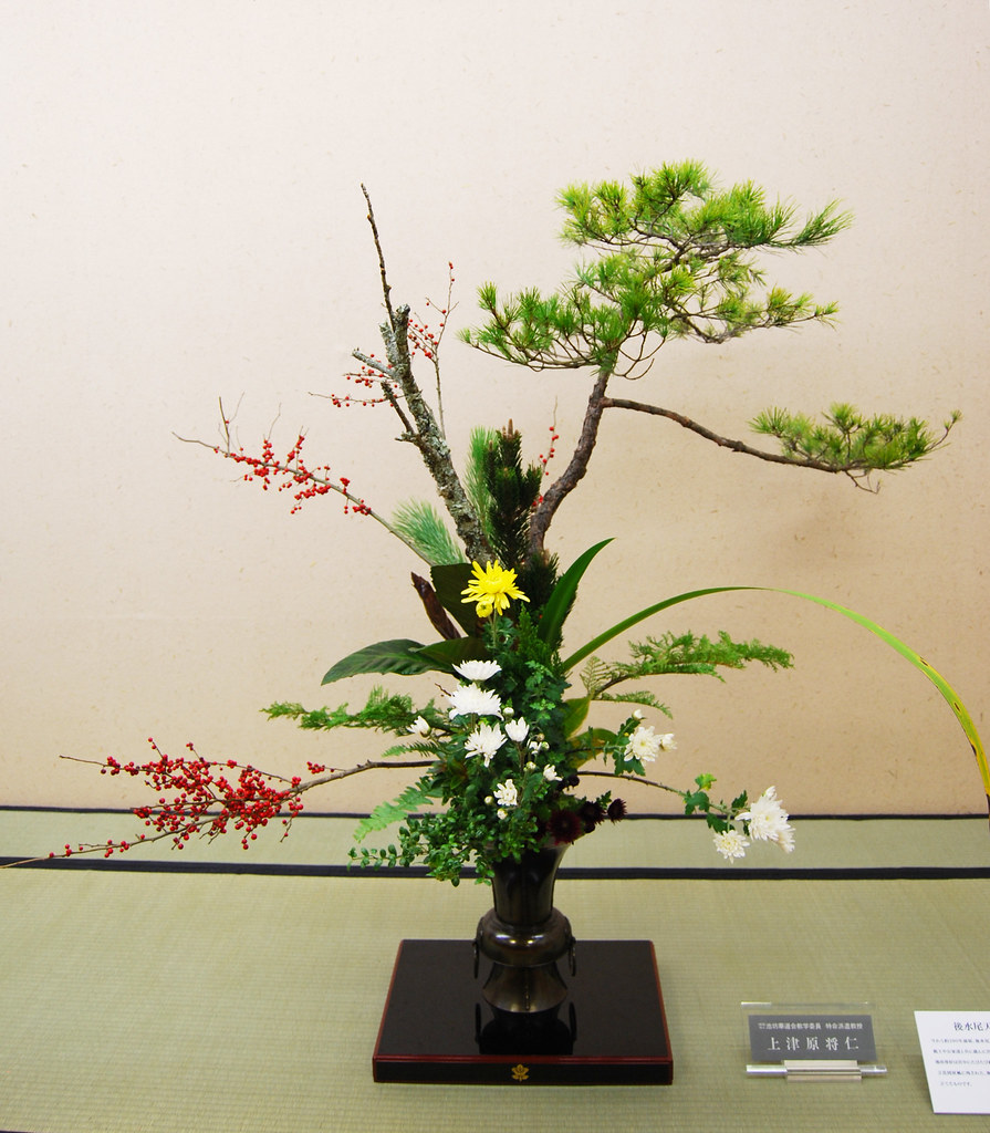 Thưởng thức nghệ thuật cắm hoa truyền thống Ikebana của Nhật Bản