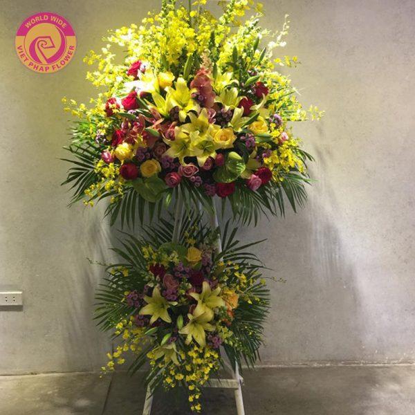 10 mẫu hoa chúc mừng ấn tượng cho ngày Doanh nhân Việt Nam 13/10