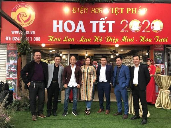 Hoa Việt Pháp 116C Trung Tự - Địa chỉ cho những tín đồ yêu lan hồ điệp Tết 2020