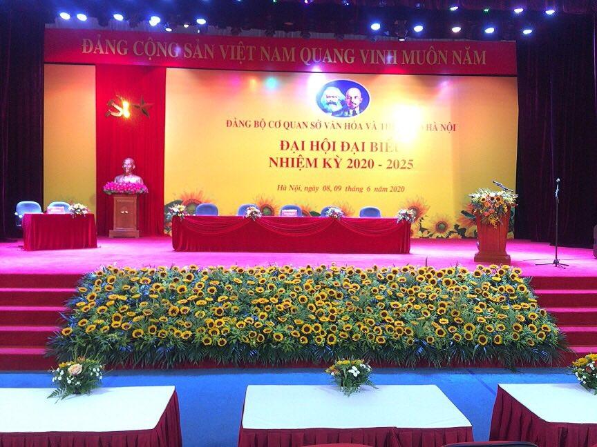 tường hoa hội nghị