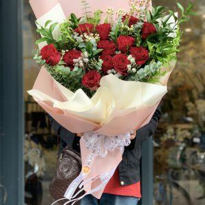 bó hoa đẹp sang trọng