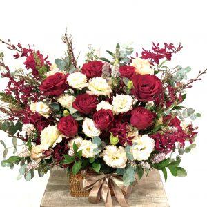 Giỏ hoa để bàn