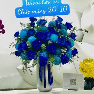 Bình hoa để bàn sang trọng