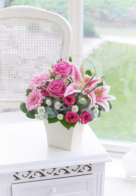 United Kingdom Pink Exquisite Arrangement VPLG 1594