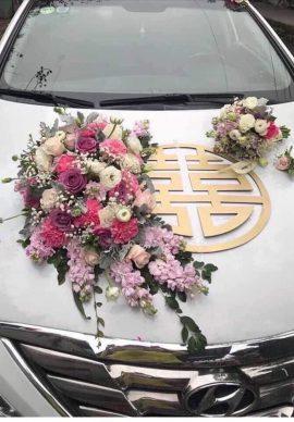 Hoa xe cưới VPXC01