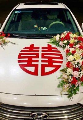 Hoa xe cưới VPXC03