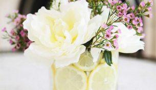 Bật mí cách cắm hoa kèm quả cực ấn tượng