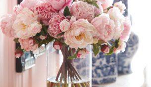 Cắm hoa tươi trang trí làm đẹp cho ngôi nhà của bạn