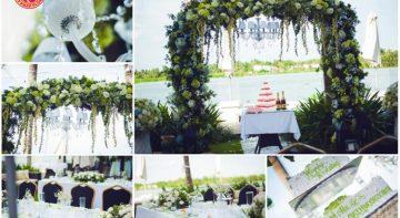 Cổng hoa sự kiện là cánh cổng chào đón tất cả những điều tuyệt vời nhất