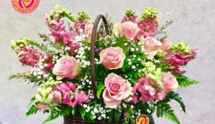 Hoa tươi tặng sinh nhật – Thay lời muốn nói đến những người thân yêu