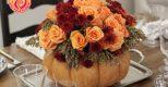 Gợi ý những mẫu hoa đầy quyến rũ để trang trí bàn ăn