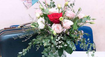 Những mẫu cắm hoa đơn giản để đấng mày râu trổ tài dành tặng chị em ngày 20/10