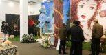 """Tác phẩm """"Tóc hoa"""" của Điện Hoa Việt Pháp thu hút khách tham quan trong triển lãm """"Tiệc Yêu"""" 2017"""