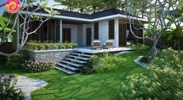 Thiết kế sân vườn biệt thự phong cách với 5 mẫu đặc biệt nhất