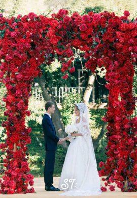 Tiệc cưới đỏ