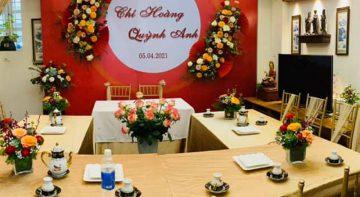 Tư vấn cưới hỏi trọn gói tại Hoa Việt Pháp